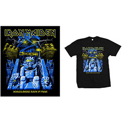 Iron Maiden Men's Tee: Back in Time Mummy