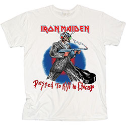 Iron Maiden Unisex Tee: Chicago Mutants
