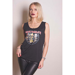 Iron Maiden Ladies Vest Tee: Evolution