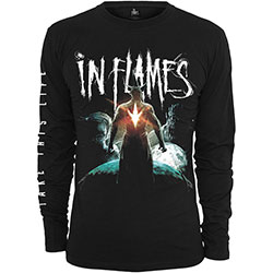 In Flames Unisex Long Sleeved Tee: Take This Life (Arm Print)