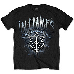 In Flames Unisex Tee: Battles Crest