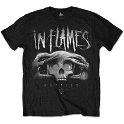 In Flames Unisex Tee: Battles 2 Tone