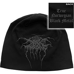 Darkthrone Beanie Hat: True Norwegian Black Metal (Back Print)