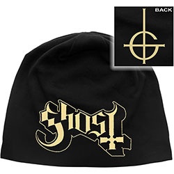 Ghost Beanie Hat: Logo (Discharge Print)