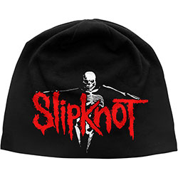 Slipknot Beanie Hat: The Gray Chapter (Discharge Print)