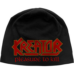 Kreator Unisex Beanie Hat: Pleasure To Kill
