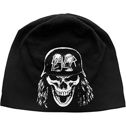 Slayer Beanie Hat: Wehrmacht (Discharge Print)