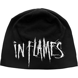 In Flames Unisex Beanie Hat: Logo
