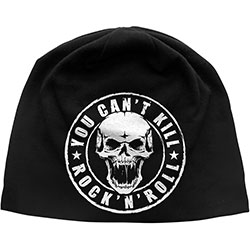 Generic Unisex Beanie Hat: You Can't Kill Rock N' Roll