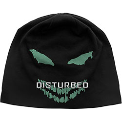 Disturbed Unisex Beanie Hat: Face