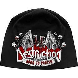 Destruction Unisex Beanie Hat: Born To Perish