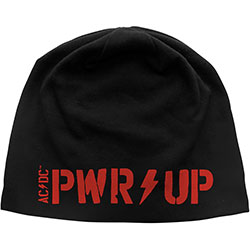 AC/DC Unisex Beanie Hat: PWR-UP