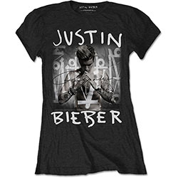 Justin Bieber Ladies Tee: Purpose Album