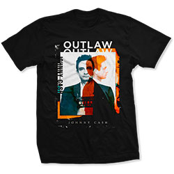Johnny Cash Unisex Tee: Outlaw Photo