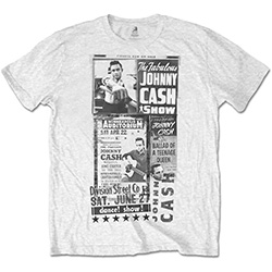 Johnny Cash Unisex Tee: The Fabulous Johnny Cash Show
