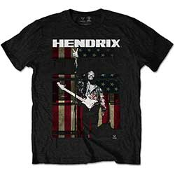 Jimi Hendrix Kids Tee: Peace Flag