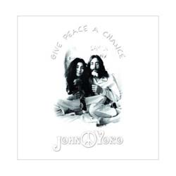 John Lennon Greeting Card: Give Peace a Chance