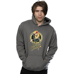 DC Comics Men's Pullover Hoodie: Bombshells Black Canary
