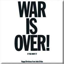 John Lennon  Fridge Magnet: War is Over