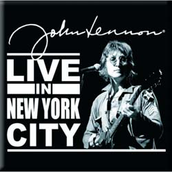 John Lennon  Fridge Magnet: Live in New York City