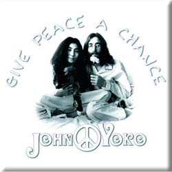John Lennon  Fridge Magnet: Peace