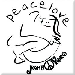 John Lennon  Fridge Magnet: Cuddle