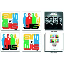 JLS Coaster Set: Mixed