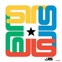 JLS Single Cork Coaster: Logo