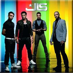 JLS Fridge Magnet: Stripes