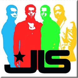 JLS Fridge Magnet: Band Silhouette