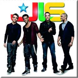 JLS Fridge Magnet: Smiling