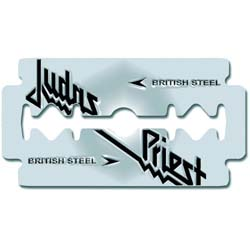 Judas Priest Pin Badge: British Steel