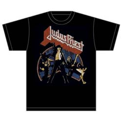 Judas Priest Unisex Tee: Unleashed Version 2