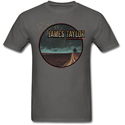 James Taylor Unisex Tee: 2018 Tour Country Road (Ex. Tour/Back Print) (Small)