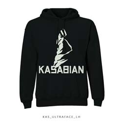 Kasabian Unisex Pullover Hoodie: Ultra Face
