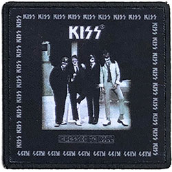 KISS Standard Patch: Dressed To Kill (Album Cover)