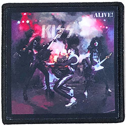 KISS Standard Patch: Alive! (Album Cover)