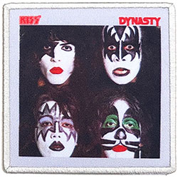 KISS Standard Patch: Dynasty (Album Cover)
