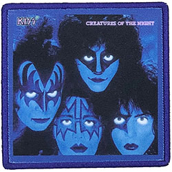 KISS Standard Patch: Creatures Of The Night (Album Cover)
