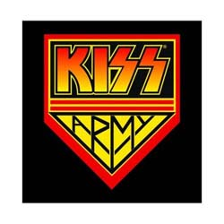 KISS Greetings Card: Logo & Icons