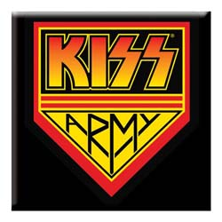 KISS Fridge Magnet: Army