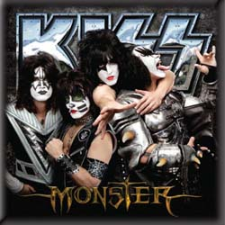 KISS Fridge Magnet: Monster
