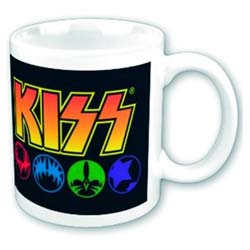 KISS Boxed Standard Mug: Masks