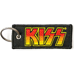KISS Keychain: Classic Logo (Double Sided Patch)