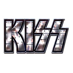 KISS Pin Badge: Stud Logo