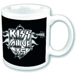 KISS Boxed Standard Mug: Alive 35 Tour