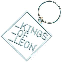 Kings of Leon Keychain: Block Logo (Enamel In-fill)
