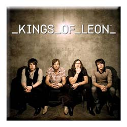 Kings of Leon Fridge Magnet: Band Photo