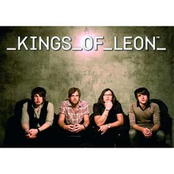 Kings of Leon Postcard: Sitting (Standard)