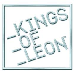 Kings of Leon Pin Badge: Block Logo